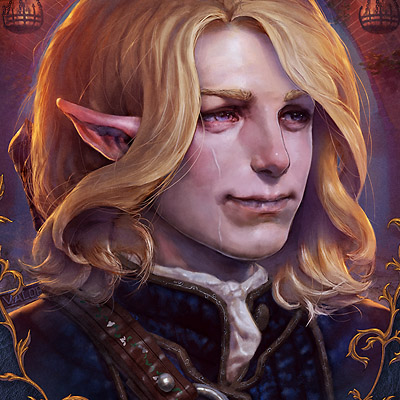 Pale Elf portrait